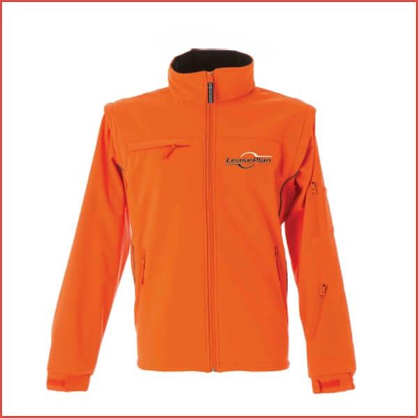 giacca con logo